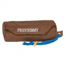 Dog Activity Preydummy i tyg - Ø 6x14 cm - Brun