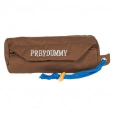 Dog Activity Preydummy i tyg - Ø 8x20 cm - Brun