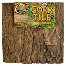 Natural Cork Tile Background - 30x30 cm