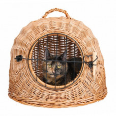Kattigloo med galler - 45cm