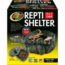 Repti Shelter 3 in 1 Cave - Small